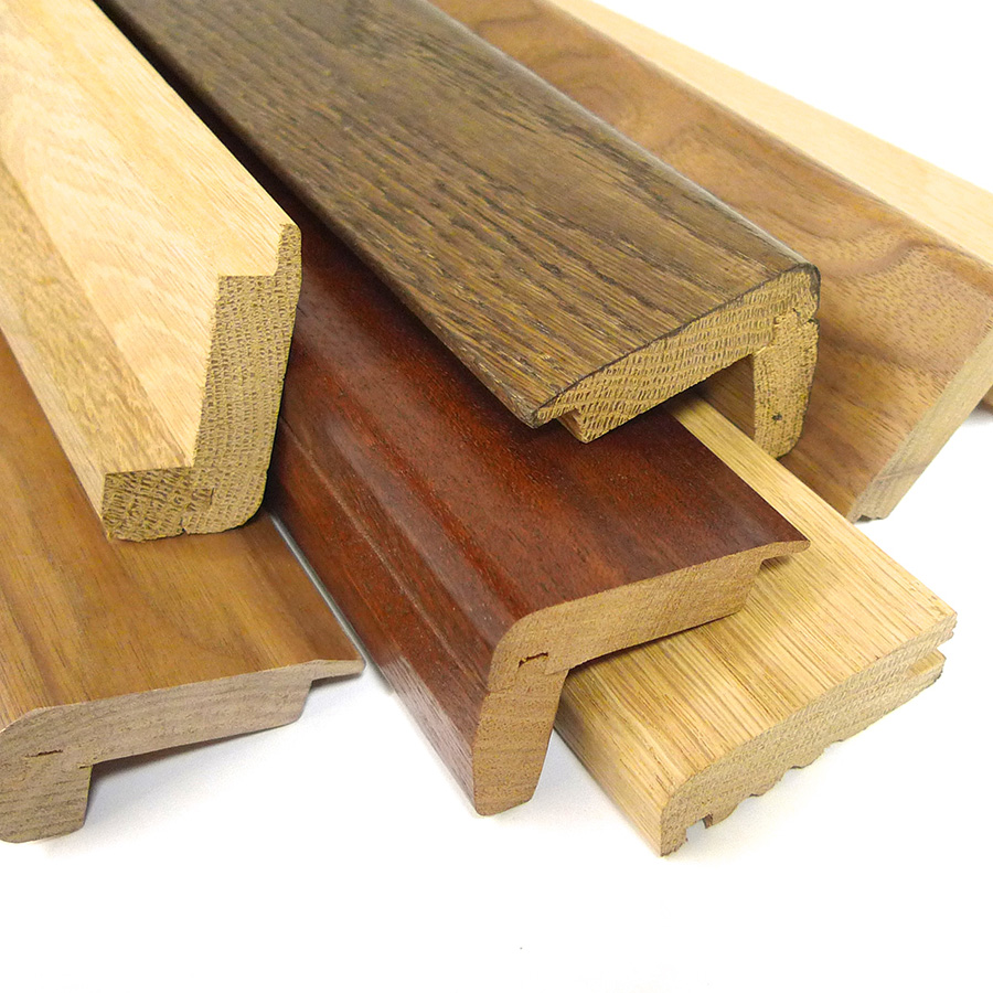 Parallel Frontier Wood Stair Nosing Hardwood Nosing For